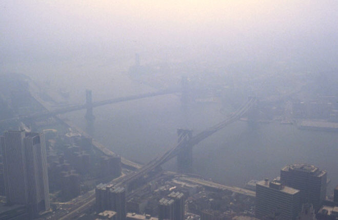 The desolation of smog.